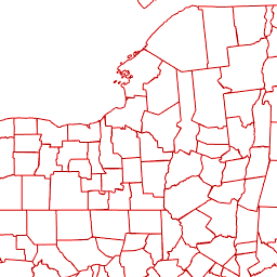 Michigan Counties on GIS Map Layer | Michigan EDC